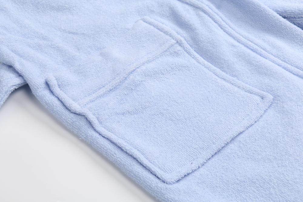 Children Bathrobe Lignt Blue (9)