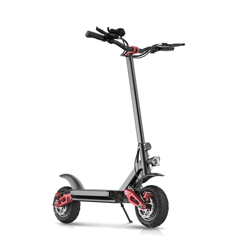 Electric Scooter With Seat Adults 2 Wheels Electric Scooters 1000W2000W3600W Speed 70KMH Ecorider E4-9 Foldable Electric Bike (23)