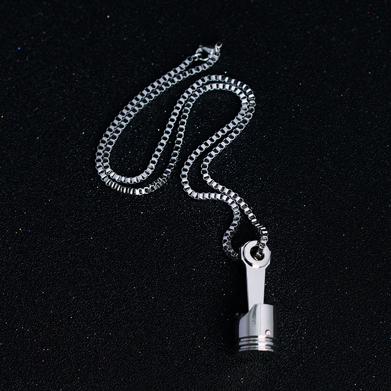 Mini Engine Piston Necklaces