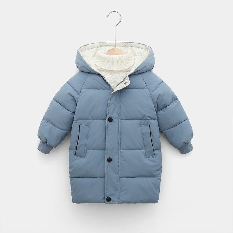 CROAL CHERIE Warm Long Jacket Coat Baby Girls Boys Parka Kids Jacket Hood Winter Children Jacket Winter Fall Toddler Outerwear (8)