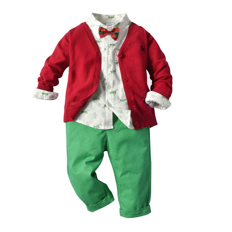 Hat Pants iEFiEL 3pcs Baby Boys Infant Cook Chef Outfits Set Long Sleeves Top