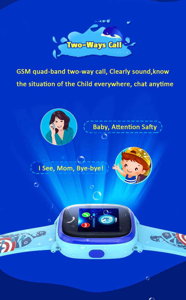DF25-Child-Smart watch-GPS (10