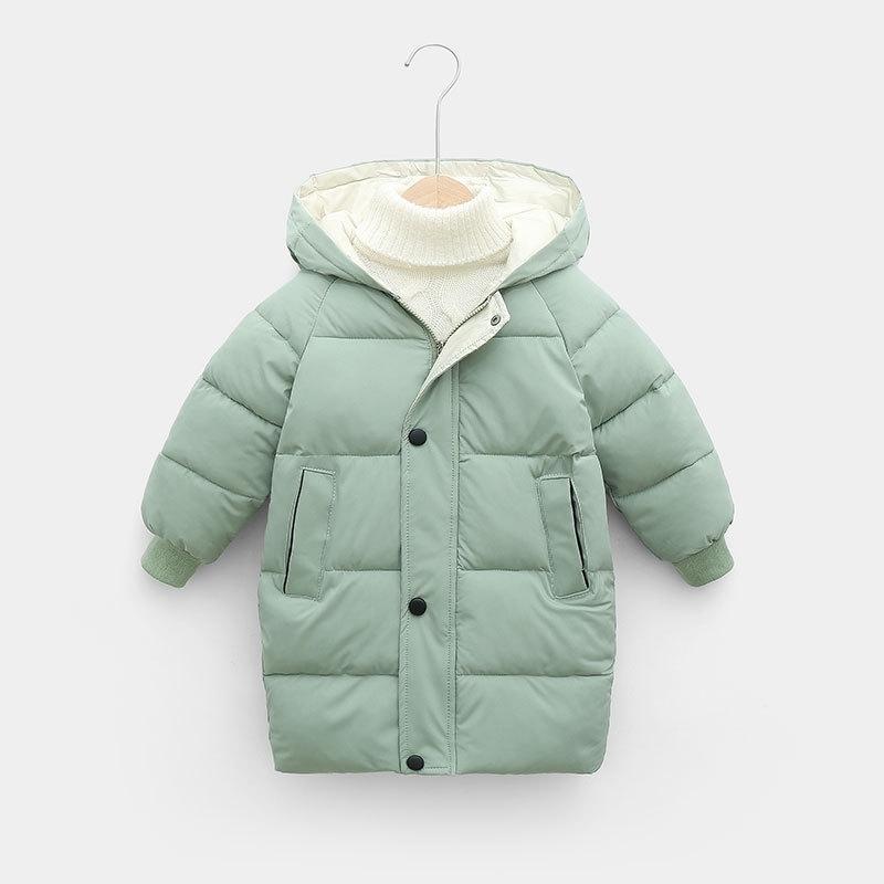 CROAL CHERIE Warm Long Jacket Coat Baby Girls Boys Parka Kids Jacket Hood Winter Children Jacket Winter Fall Toddler Outerwear (7)