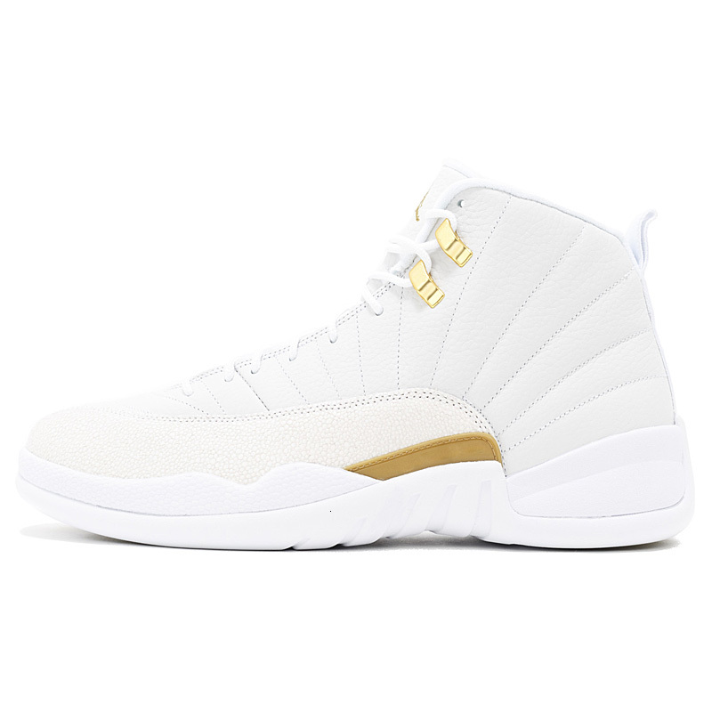 12 12s men shoes fiba Flu Game Royal University Gold Midnight Black Hot Punch Playoffs women mens trainers Sport Sneakers 7-13