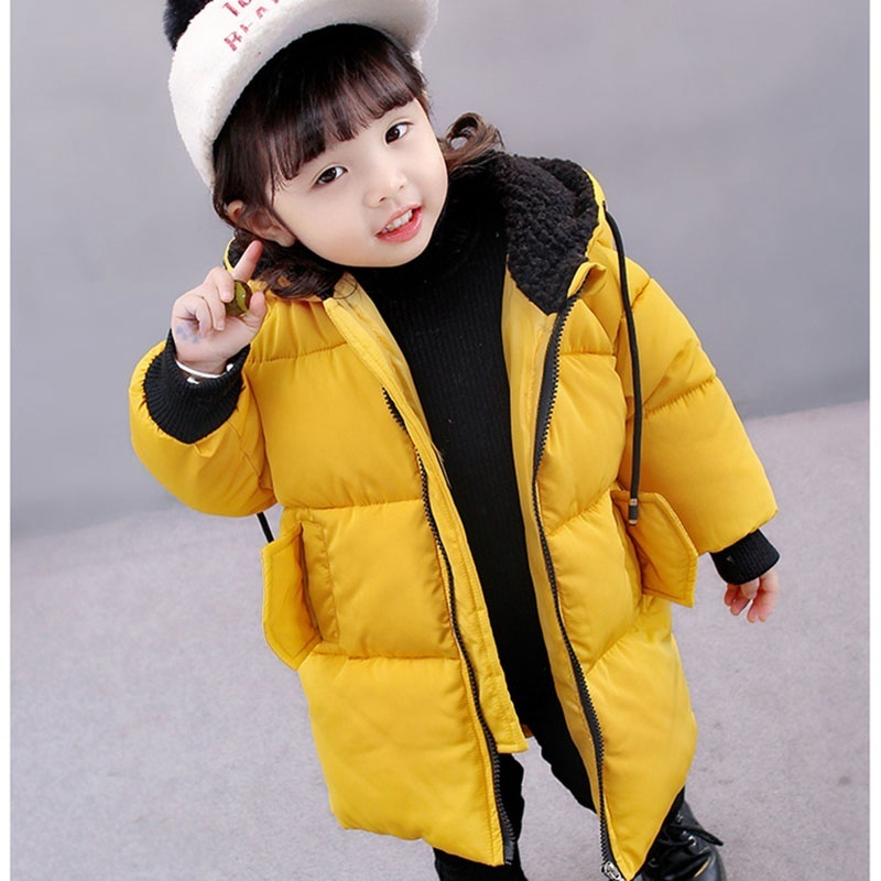 COOTELILI Winter Jackets For Girls Boys Winter Overalls For Girls Warm Coat Baby Boy Clothes Children Clothing 80-130cm (7)