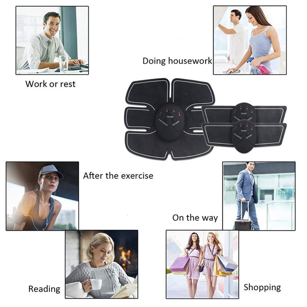 Abdominal Muscle Toner Wireless ABS Workout Home Gym Office Fitness Equipment Training Men Women Electrostimulation Musculaire (4)
