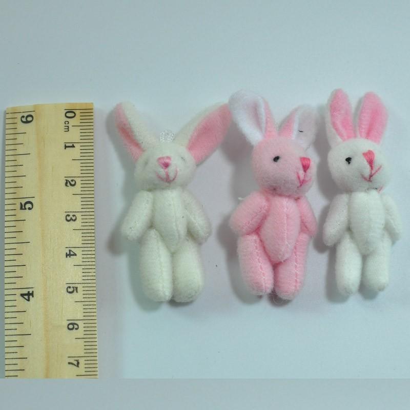 4.5CM Plush Rabbit Bunny 1