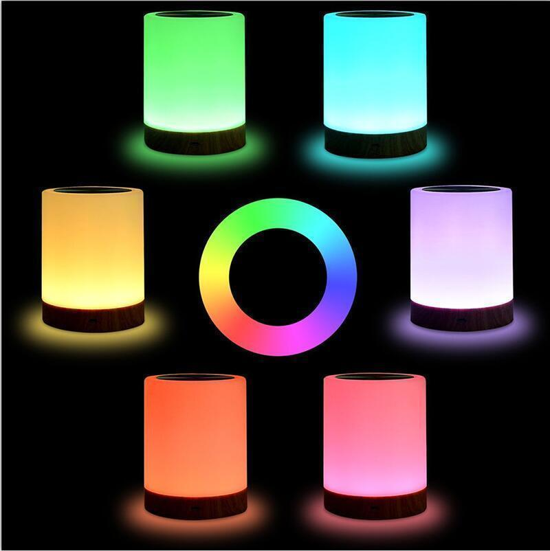 Smart Bedside Lamp LED Table Lamp Friendship Creative Bed Desk Light for Bedroom Bedside Lampe Bed Night Lights