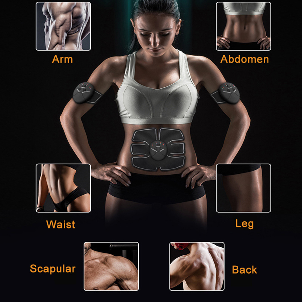 Abdominal Muscle Toner Wireless ABS Workout Home Gym Office Fitness Equipment Training Men Women Electrostimulation Musculaire (5)