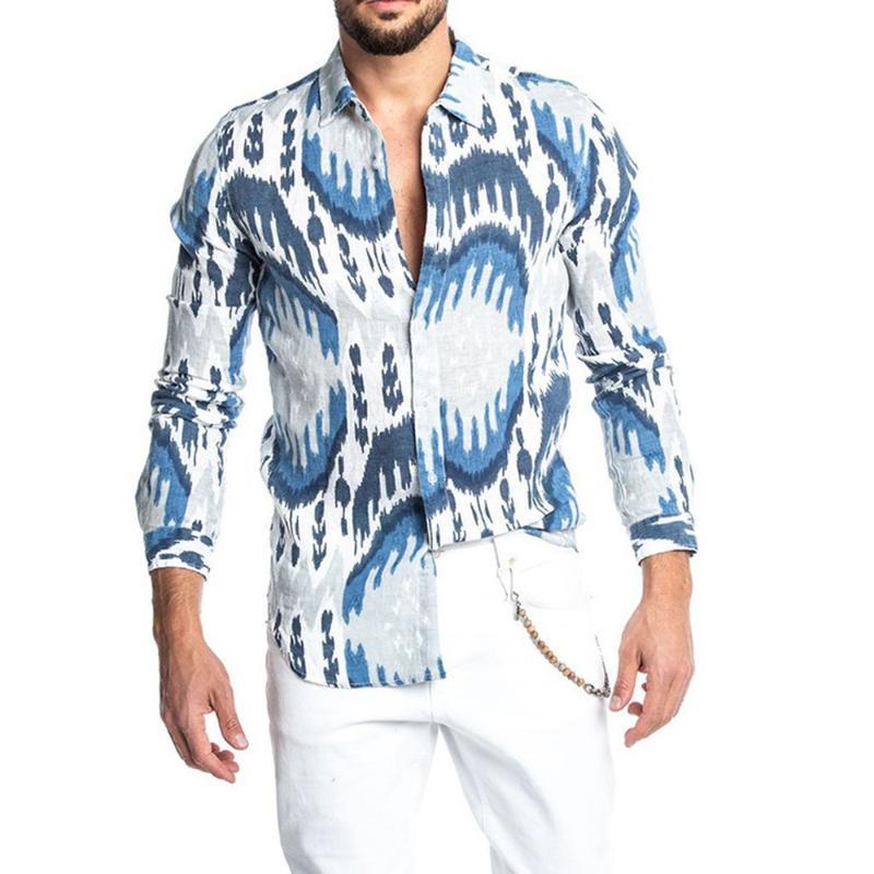 Azul Marino Moteado Y Delgada Blanco//Azul Rayas Tejido Elástico Camisa-Vendido por metros