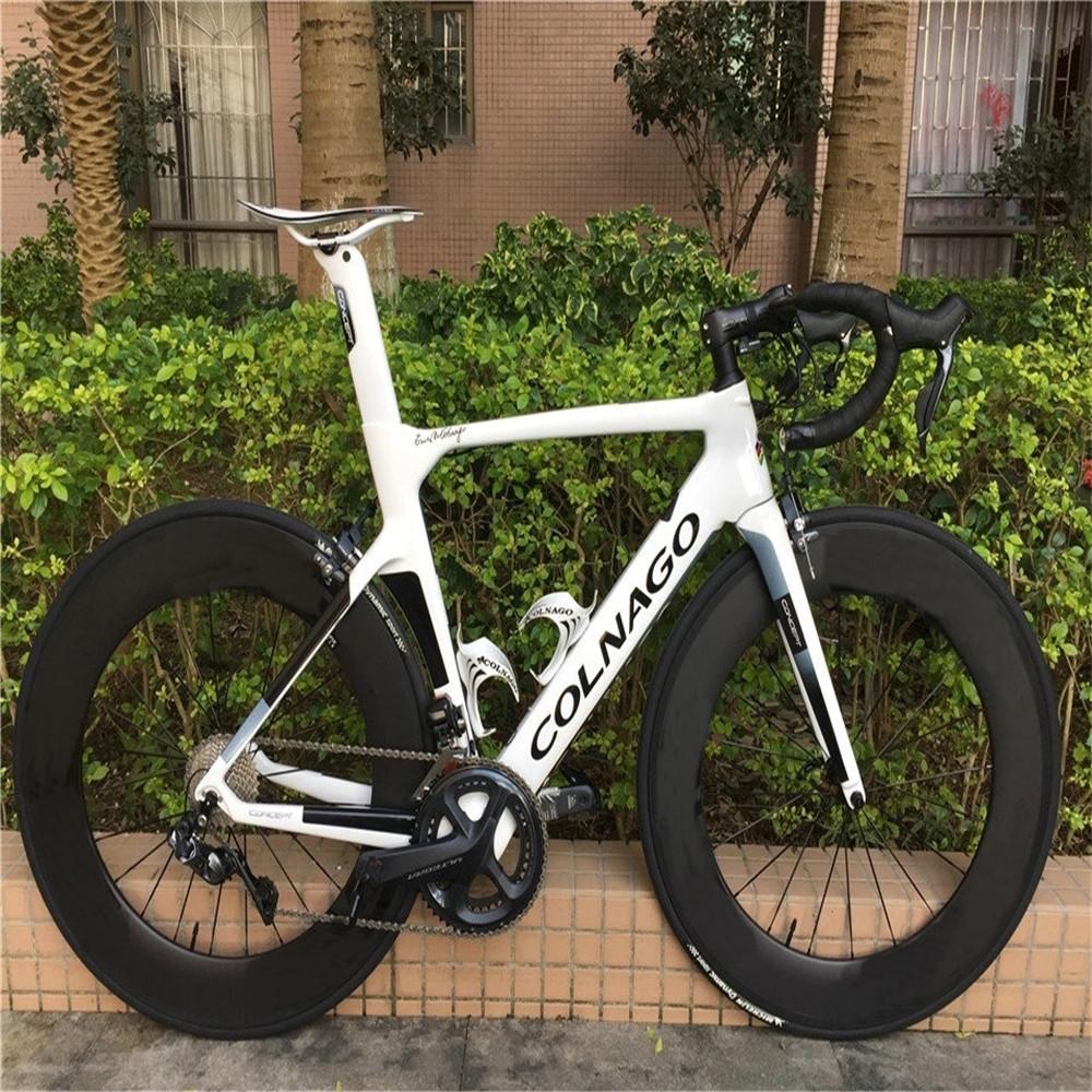 2020 White Colnago CONCEPT Carbon Complete Road Bike