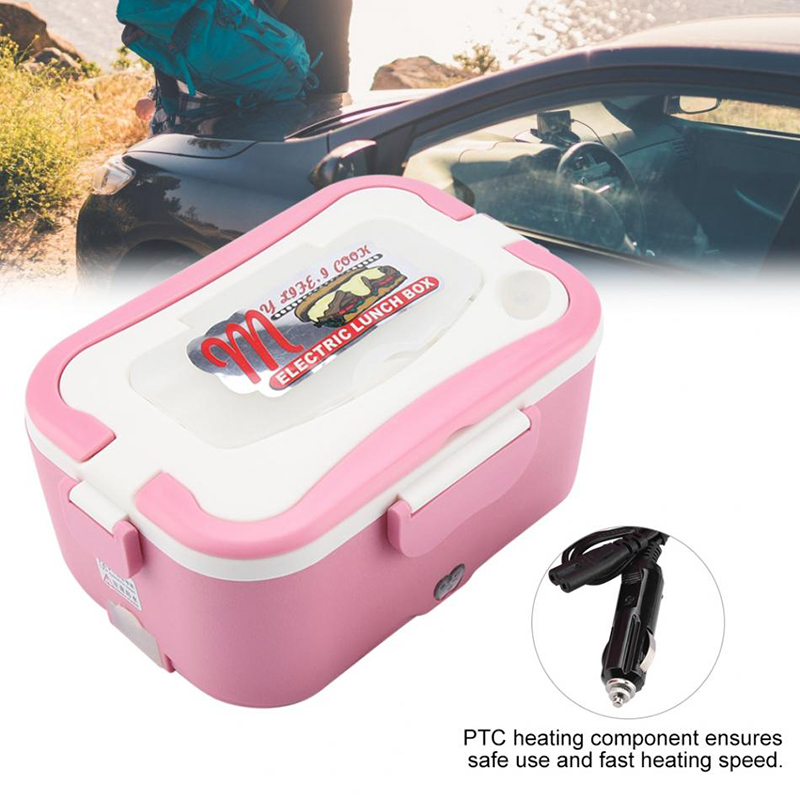 Car heating lunch box Multifunctional stainless steel insulated lunch box car electric lunch box15