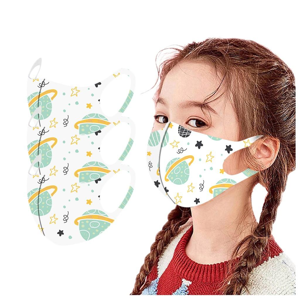Kids Rainbow Cartoon Mask Child Outdoor Protec Face Masks For Girls Kid Washable Fasemask Party Decoration Maseczki Cubrebo wmtoQk
