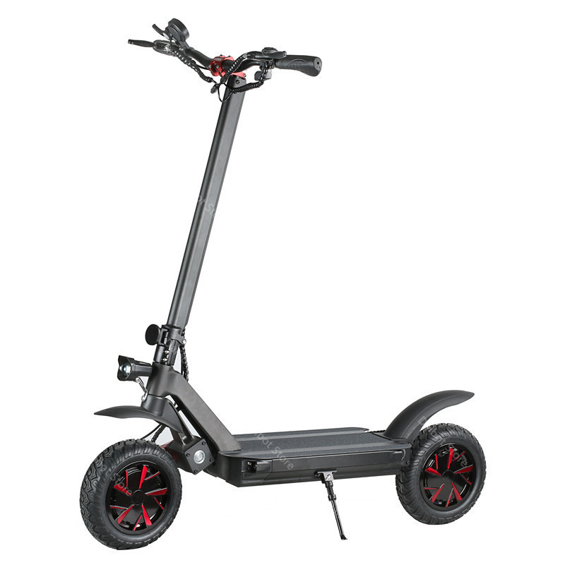 10 Inch Powerful Electric Scooter 3600W 60V Two Wheel Electric Scooters Adults Ecorider E4-9 Folding Electric Scooter Skateboard (63)