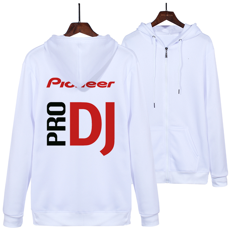 autumn winter fashion pioneer cardigan hoodies thickening professional DJ Pro Pioneer casual sweatshirt zipper jacket