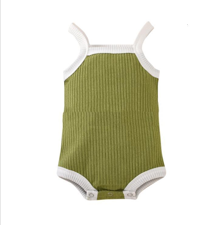 Baby Romper Body Casual Clothing Striped Pure Colors Jumpsuit Unisex Sleeveless Rompers Newborn Baby Clothes Jumpsuit for Bebes LSK520