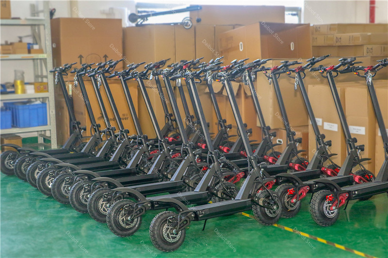 Electric Scooter With Seat Adults 2 Wheels Electric Scooters 1000W2000W3600W Speed 70KMH Ecorider E4-9 Foldable Electric Bike (68)