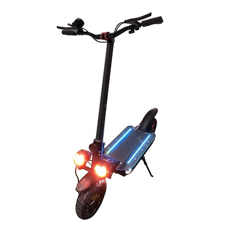 Folding Electric Scooter Adults 2 Wheels Electric Scooters Ecorider E4-9 With Crystal Light 3600W 70KMH Powerful Electric Bike (15)