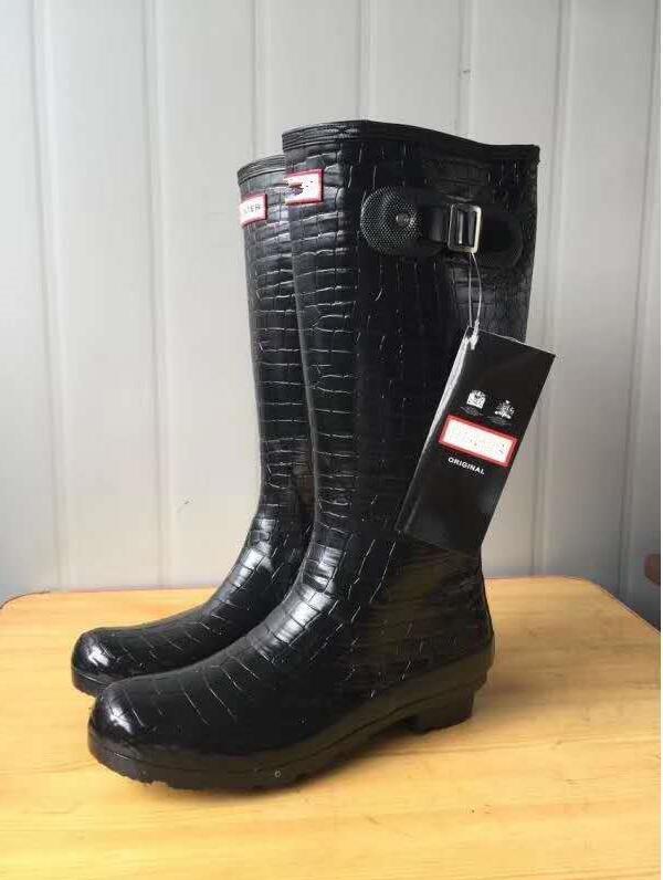 Rubber Rainboots Rain Boots for Women British Classic Waterproof Rainboots Ladies Wellies Wellington Matte Boot Rain boots x1018