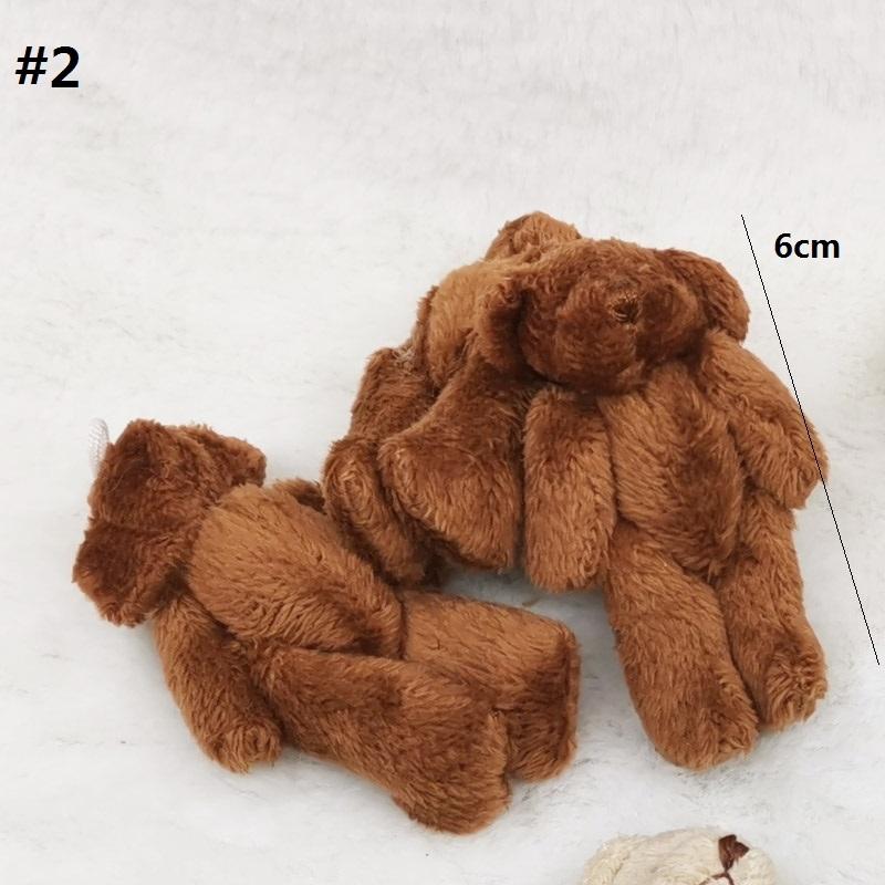 6cm brown bear 2