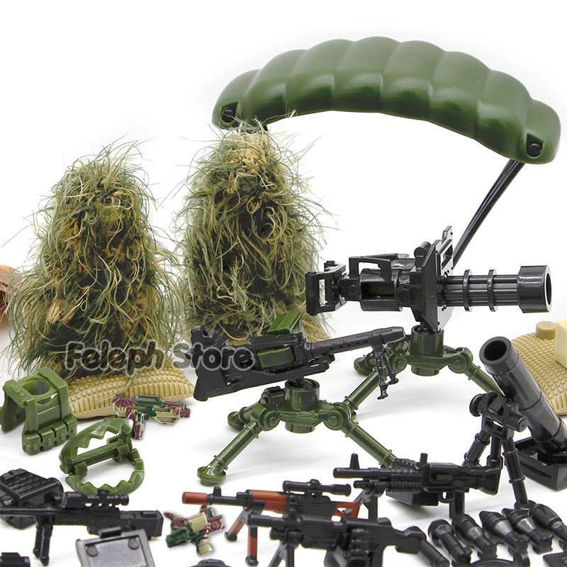 153Pcs-Sandbag-Laptop-Armor-Camouflag-Building-Blocks-Model-Bricks-Military-Army-SWAT-Weapon-Team-Set-MOC-Accessories-DIY-Toy-(1)
