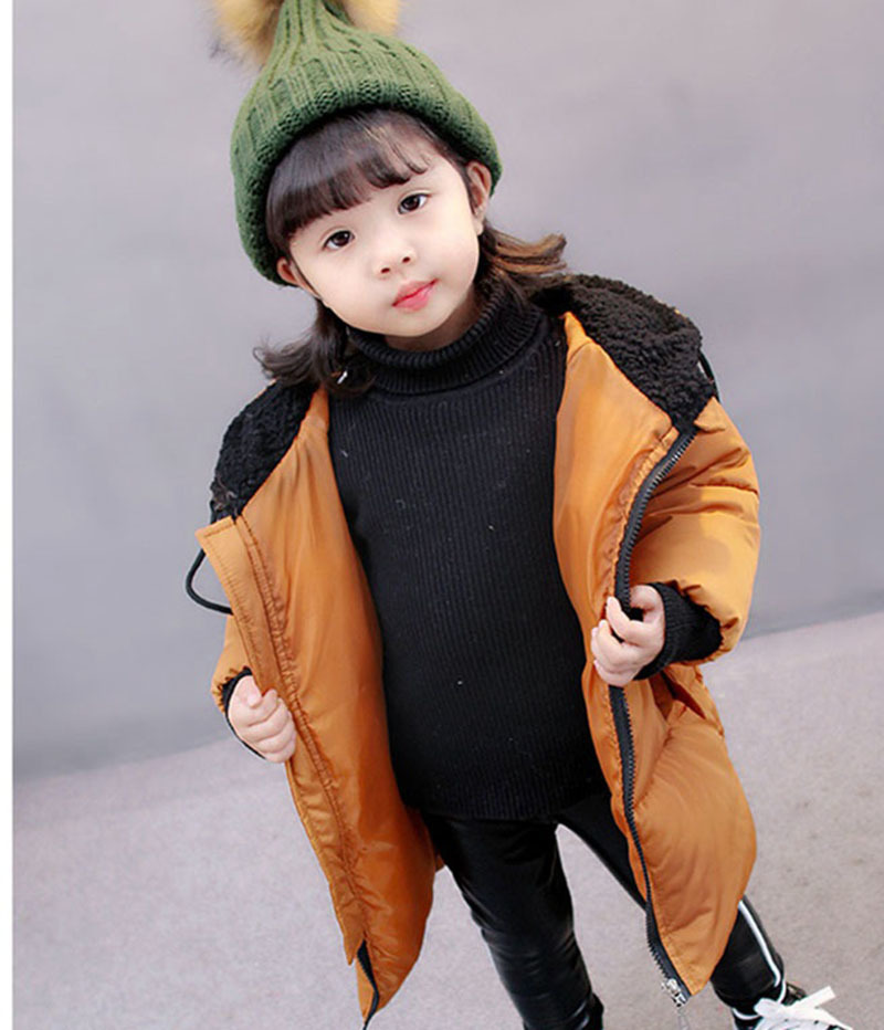 COOTELILI Winter Jackets For Girls Boys Winter Overalls For Girls Warm Coat Baby Boy Clothes Children Clothing 80-130cm (6)