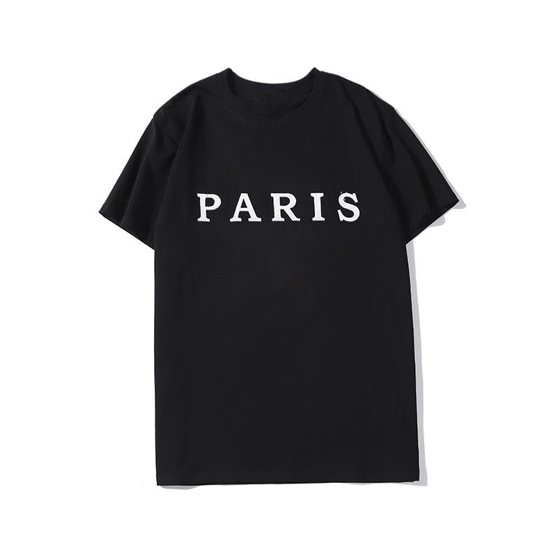 luxury Designer printed t shirts fashion personality men design shirt women t-shirt high quality black and white S-XXL