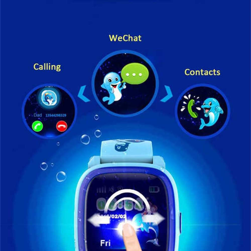 DF25-Child-Smart watch-GPS (14