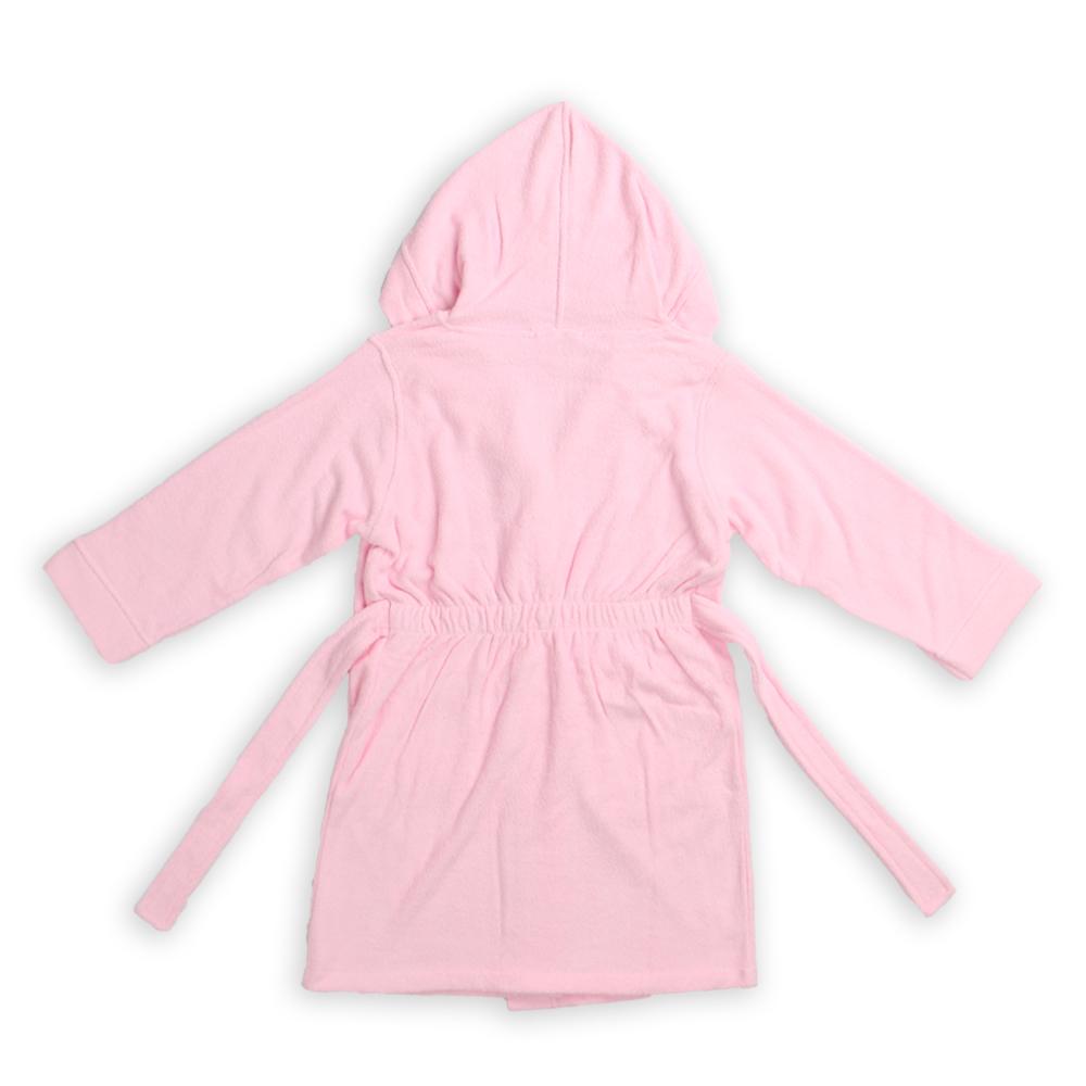 Children Bathrobe Pink (17)