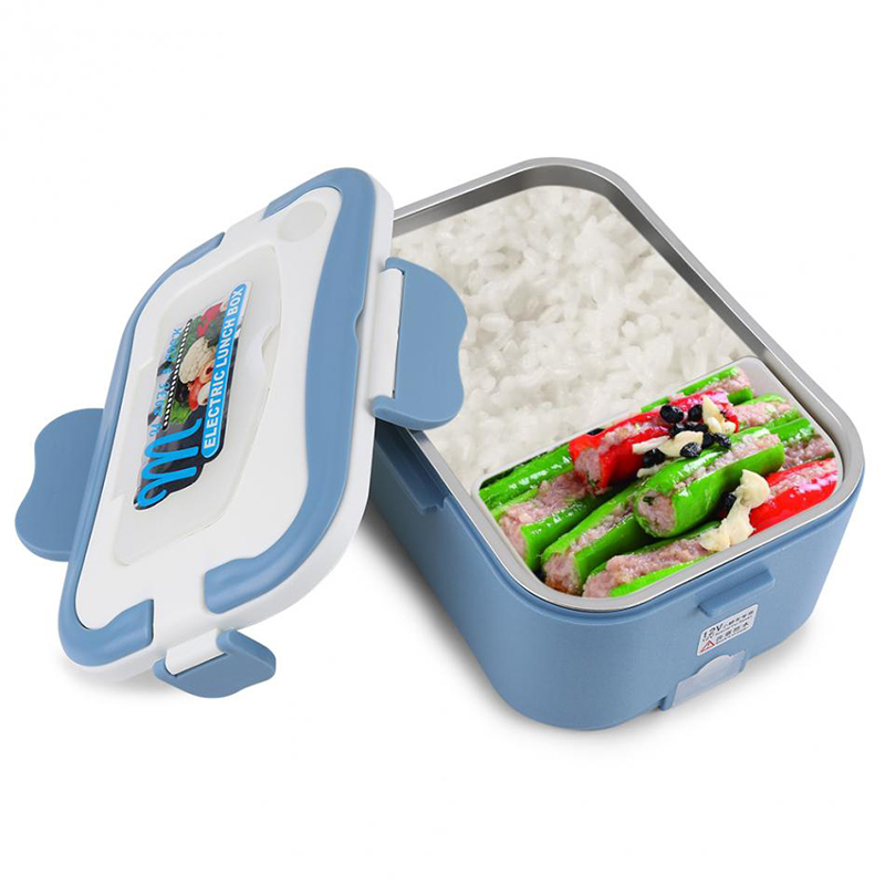 Car heating lunch box Multifunctional stainless steel insulated lunch box car electric lunch box14