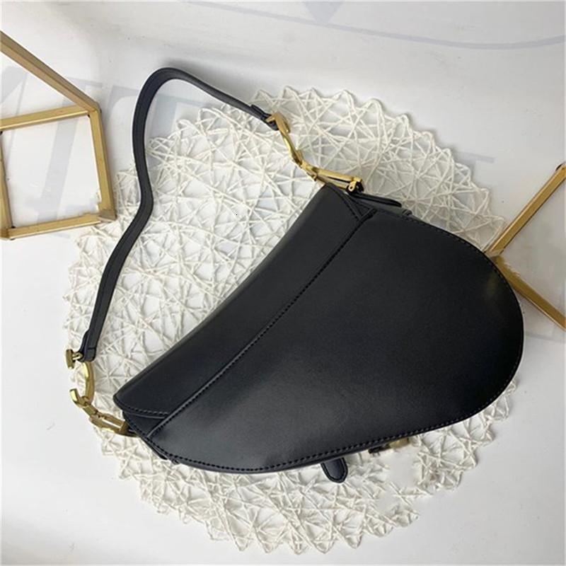 luxurys designers bags Designer handbag lady Genuine leather handbags with letters Saddle bag high quality genuine leather Shoulder handbag