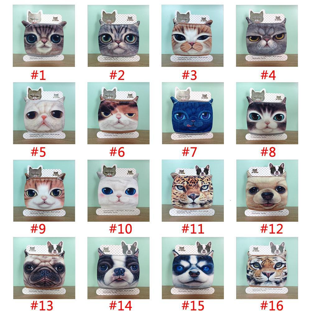 Designer Mask Cat Dog Personality Washable Masks Cotton Dustproof Mouth Face Mask For Women Party Reusable Masks w-00438