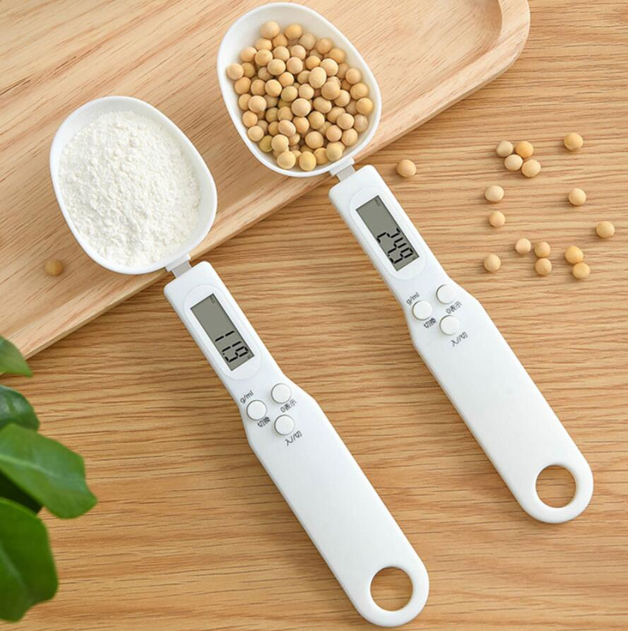 500g/0.1g Capacity Coffee Tea Digital Electronic Scale Kitchen Measuring Spoon Weighing Device LCD Display Cooking with box
