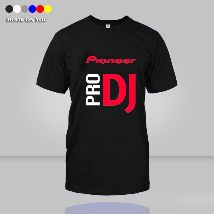 DJ official style Pioneer T-shirt new spring fashion tshirt for Pioneer DJ PRO T Shirt Men Tees free shipping