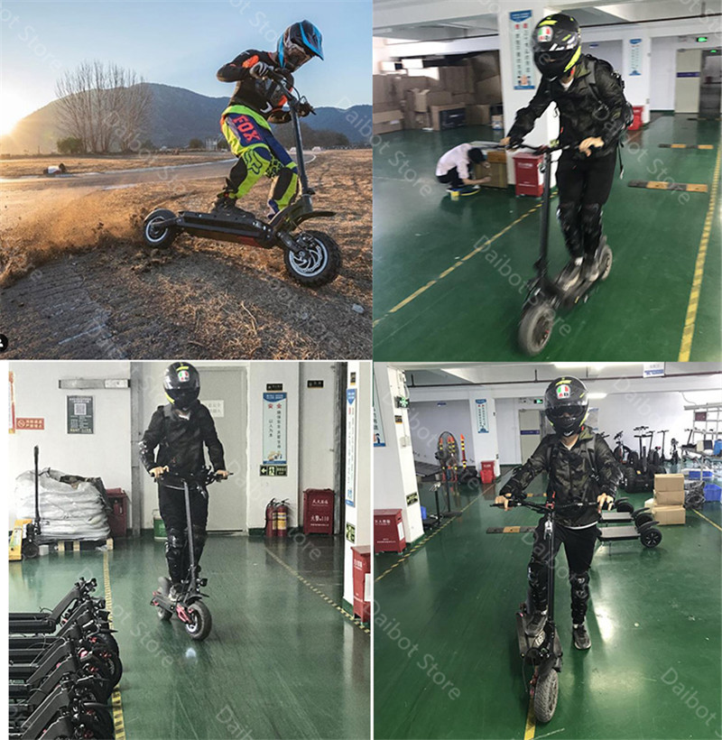 Folding Electric Scooter Adults 2 Wheels Electric Scooters Ecorider E4-9 With Crystal Light 3600W 70KMH Powerful Electric Bike (14)