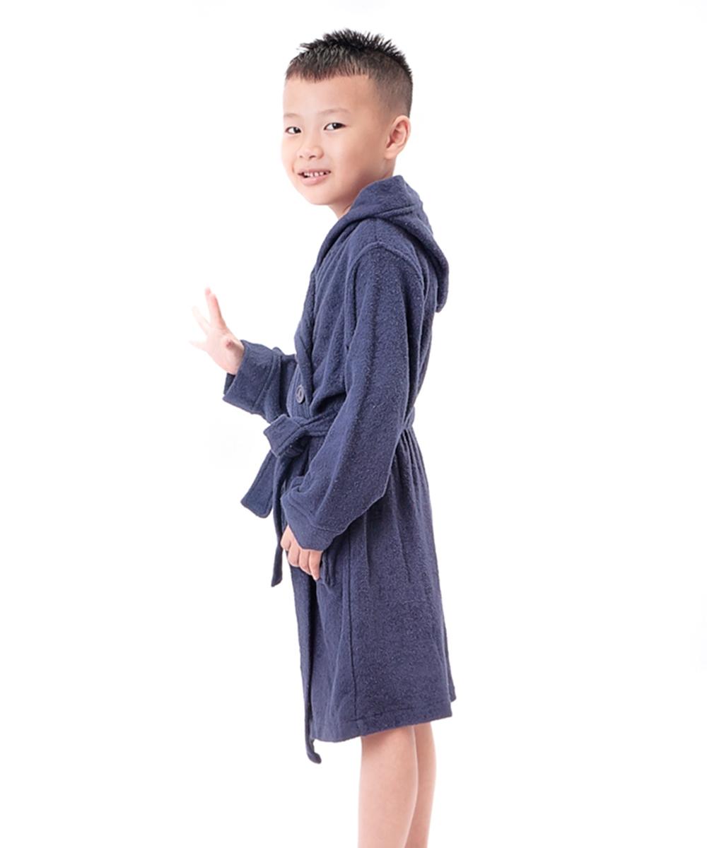 Children Bathrobe Dark Blue (18)