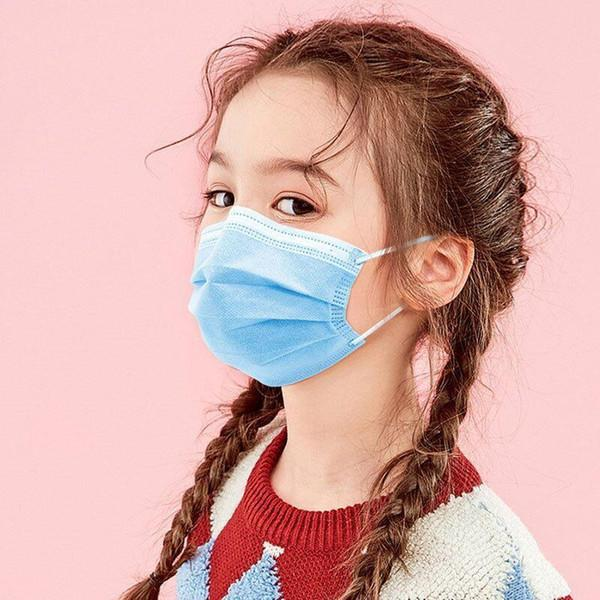 face mask adult kids face masks colorful 3 Layer black white anit dust mouth masks Cover 3-Ply disposable Non-woven chilid facemask