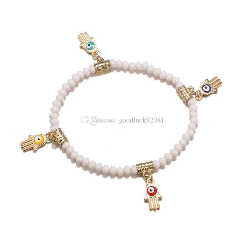 Bohemian Beaded Bracelets for Women Multilayer Stretch Stackable Bracelet Set Multicolor Jewelry