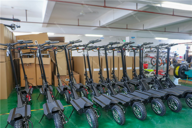 Folding Electric Scooter Adults 2 Wheels Electric Scooters Ecorider E4-9 With Crystal Light 3600W 70KMH Powerful Electric Bike (17)