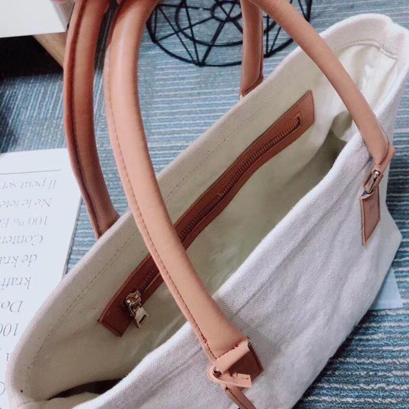 Newset Luxury Jumbo Canvas Handbag Shoulder bags Designer Handbags Women Tote Baby Purse Crossbody Beach Bag Diaper Bags Shopping Bags