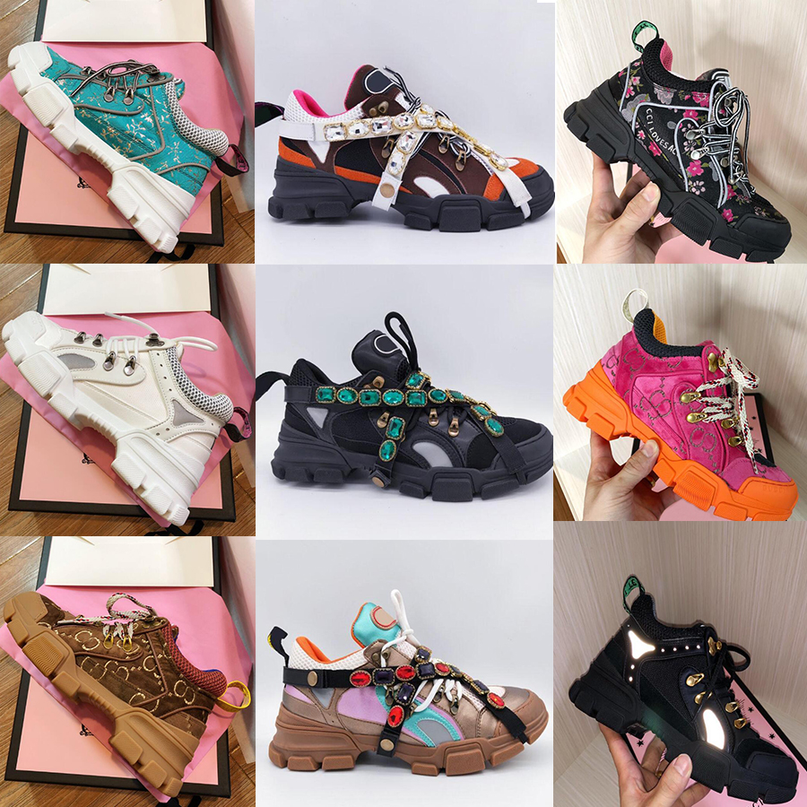 2021 New designer sneaker flashtrek with removable women men Unisex trainer mountain climbing shoes mens outdoor hiking boots Ankle Booties