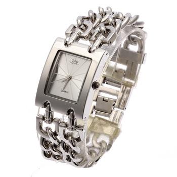 G&D Women Wristwatch Quartz Watch Luxury Silver Watch Relogio Feminino Saat Dress Watch Relojes Mujer Ladies Gifts Casual Jelly