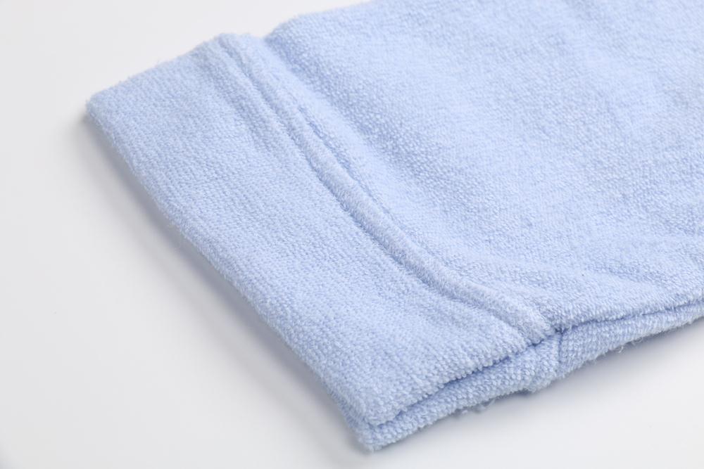 Children Bathrobe Lignt Blue (3)
