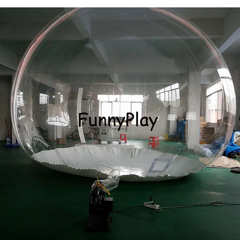inflatable clear Camping Tent2