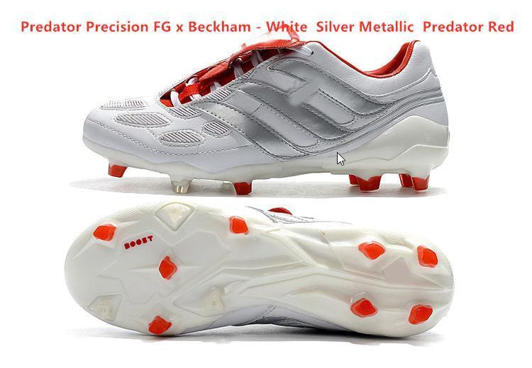 2020 mens soccer cleats Predator Accelerator Electricity FG TR soccer shoes Predator Precision FG X Beckham turf indoor football boots new