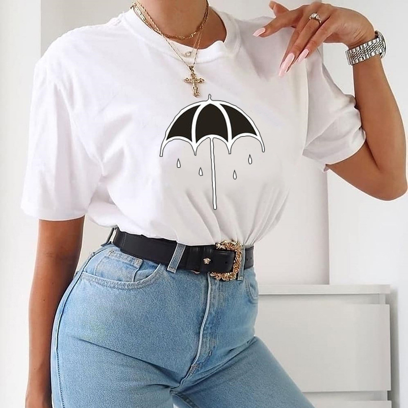Women-Summer-Short-Sleeve-Loose-T-Shirt-Funny-90s-Baby-Graphic-Letter-Printed-Oversized-Tunic-Tops