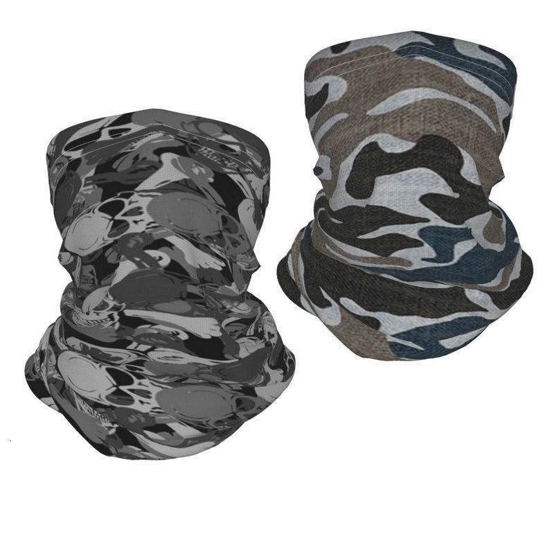 camouflage Scarf Shield Neck Gaiter Face Mask Reusable Cloth Face Masks Washable Bandana Face Mask, Sun Dust Protection Cover Balaclava
