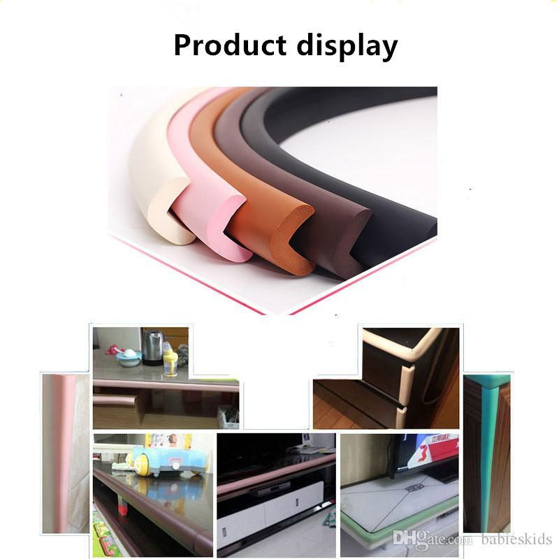 Baby Safety Soft New Arrival Child Protection Corner Protector Baby Safety Guards Edge & Corner Guards Solid Angle Form Single Loaded