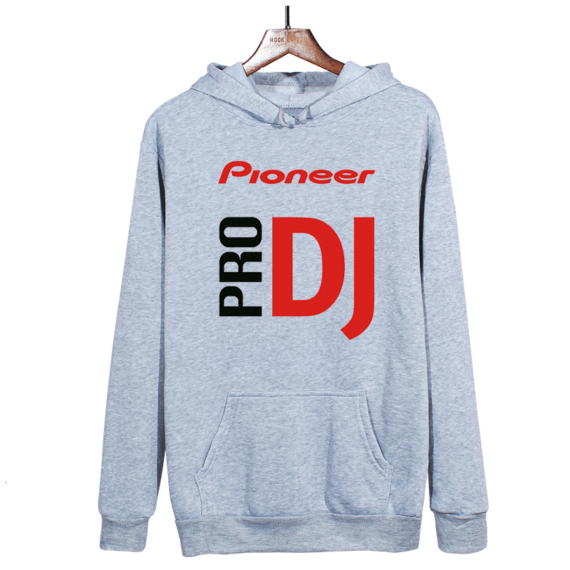 DJ music hoodies man hoody unisex custom pioneer pro DJ hoodie men cotton winter sweatshirt jacket free shipping