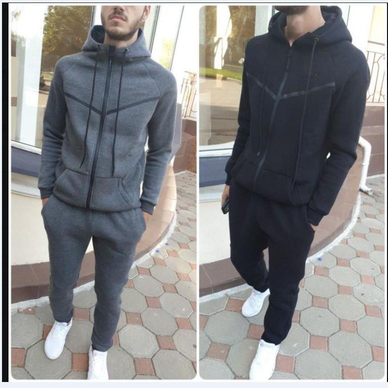 Fashion Designer Tracksuit Spring Autumn Casual Unisex Brand Sportswear Track Suits High Quality Hoodies Mens Clothing
